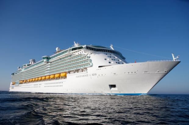 Daily Echo: Guests had all sailed on Independence of the Seas.