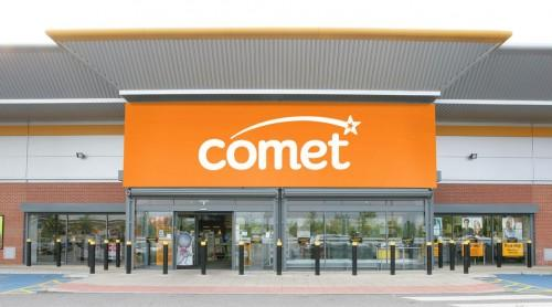 Comet on the brink of administration
