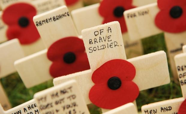 Remembrance services across the south