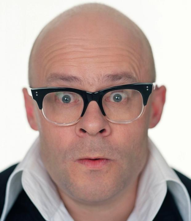 Funnyman Harry Hill at Southampton book signing