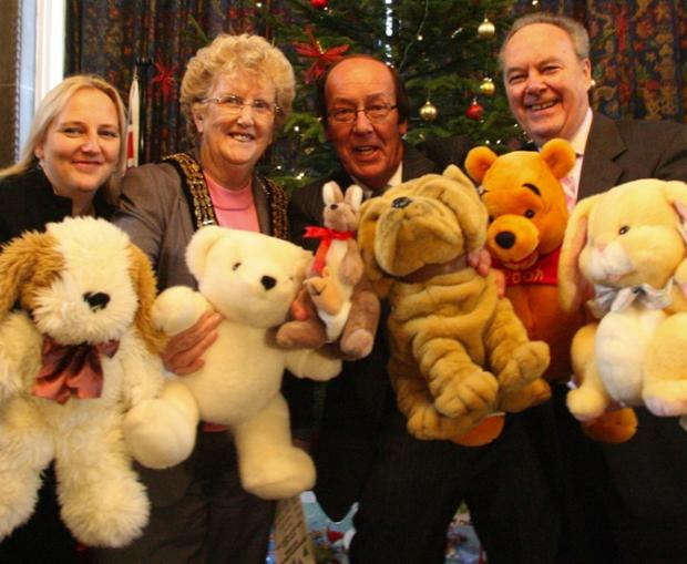 TV presenter Fred Dinenage launches a previous toy appeal