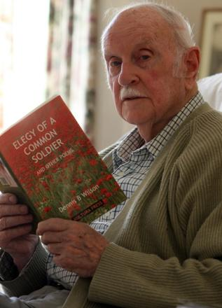 Southampton poet, 91, releases fourth collection of war poems