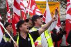 Previous job cuts have sparked council protests