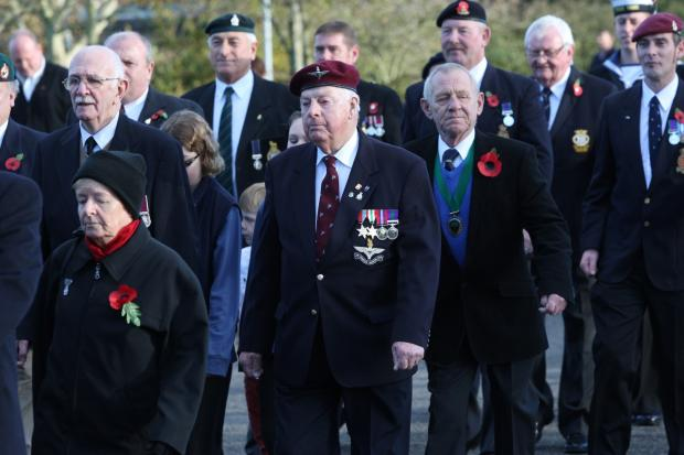 Fawley Remembrance Service