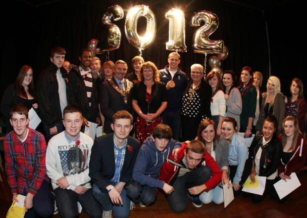 Chamberlayne College for the Arts reward students for best GCSE results