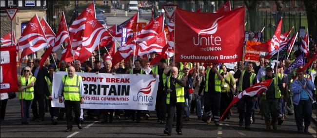 Previous cuts sparked union protests
