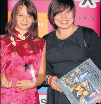 Young filmmaker scoops award