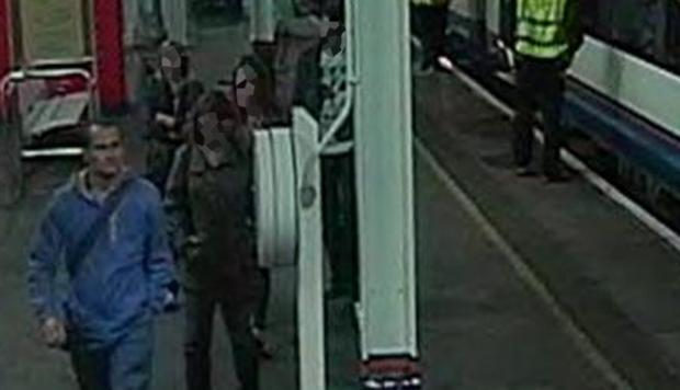 Police appeal after sex attack near train station