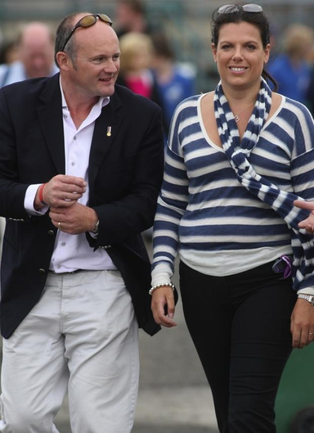 Caroline Nokes and her husband Marc