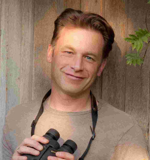 Wildlife expert and TV presenter Chris Packham