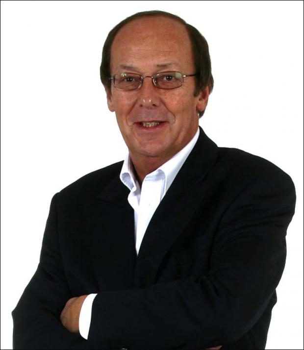 Fred Dinenage is receiving an honorary degree.