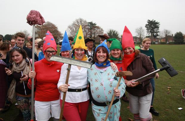 Fun runners get set for Children in Need