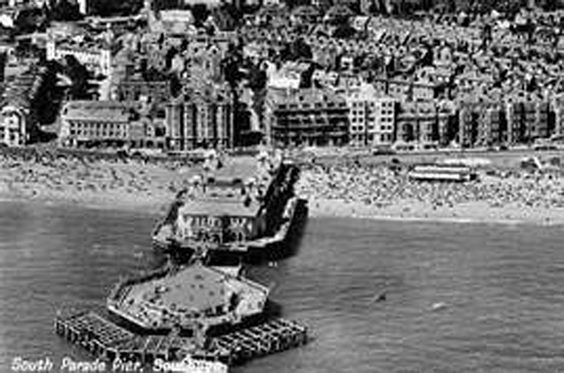 South Parade Pier photographed in its heyday,