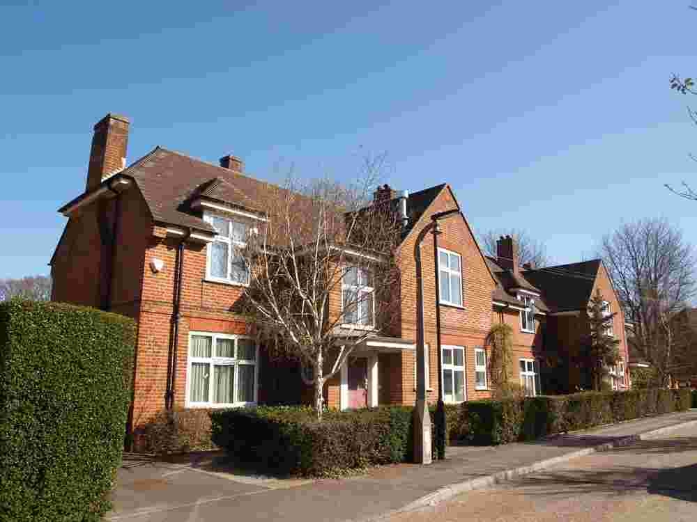 SOLD: The former children's home at Shirley.