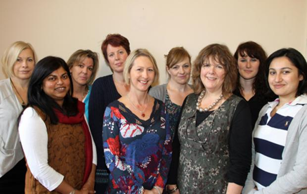LOTTERY GRANT: Staff at Southampton Rape Crisis are delighted with the award.