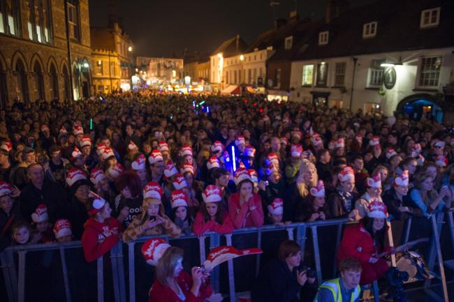 Winchester Christmas Light Switch On 2018 Lights