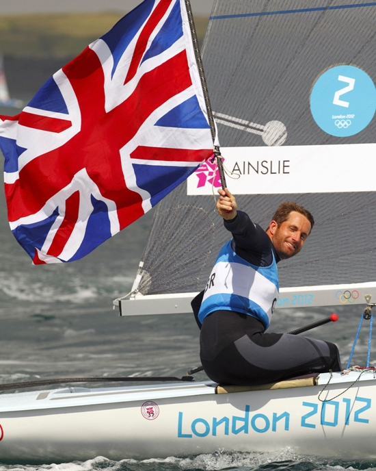 Why I won't challenge for fifth Olympic gold - Ainslie