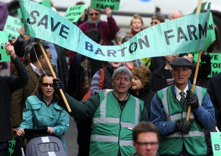Battle to save Barton Farm 'is finally lost'