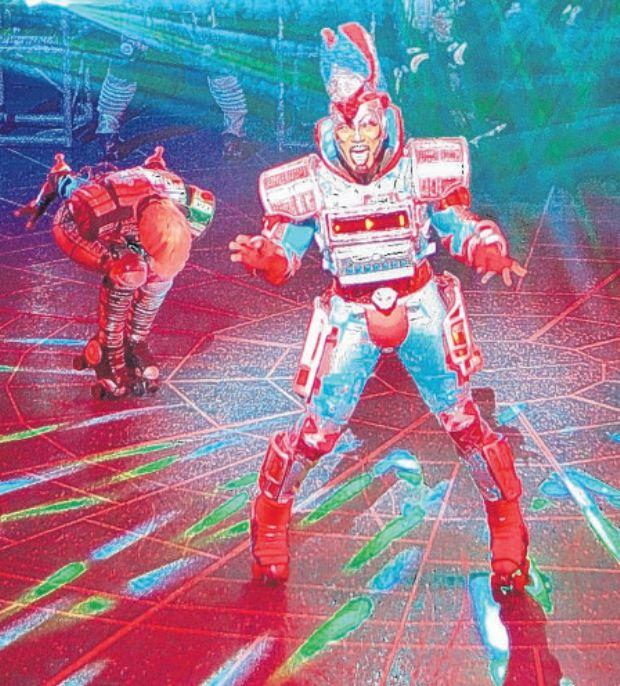 Daily Echo: Starlight Express at the Mayflower theatre. Picture: Eric Richmond