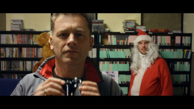 A scene from Chris Packham and Rob da Bank's video.