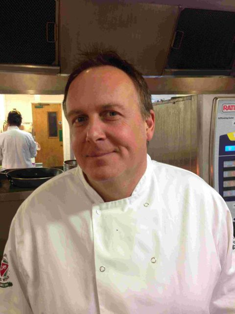 Richard Cameron has taken over as executive chef at Marwell Hotel