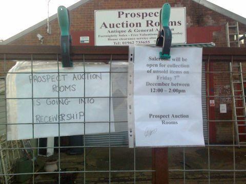 Prospect Auction Rooms in Alresford