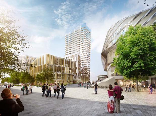 Striking vision for new £70m WestQuay scheme