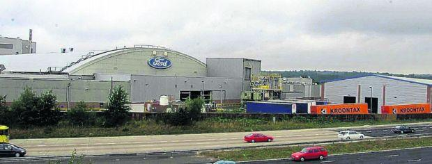 The former Ford plant at Southampton