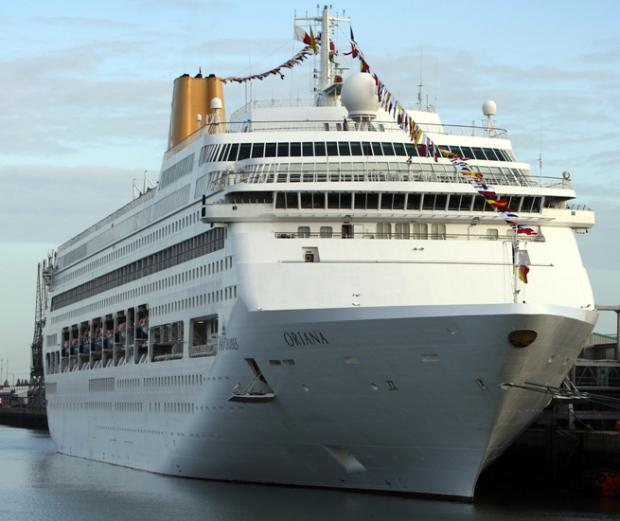 Passengers protest on cruise ship hit by vomit bug