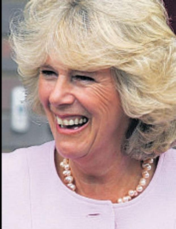 ROYAL VISIT: The Duchess of Cornwall.