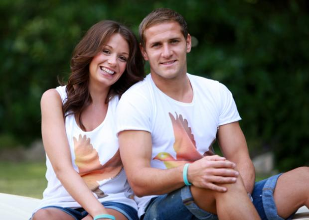 Billy Sharp with Jade