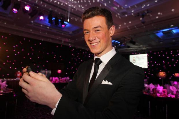 Ballroom dancer Kai Widdrington was Hampshire & IoW's Junior Sportsman of the Year for 2012