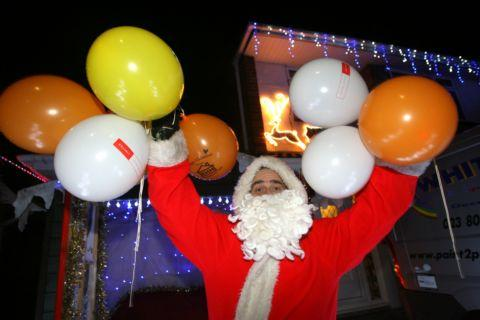 Phil Whitehead as Father Christmas