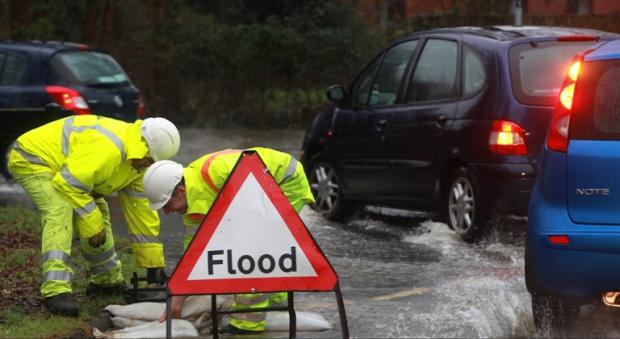 Daily Echo: Major flooding alert issued for Southampton and Hampshire