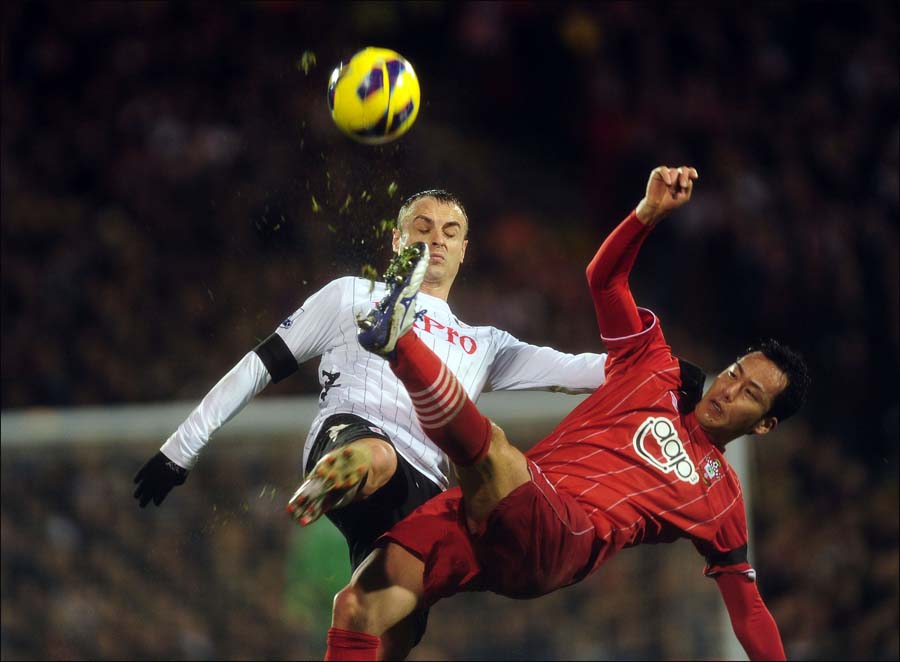 Images from Fulham v Saints