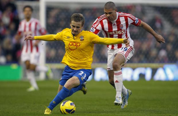Stoke v Saints - Picture Gallery
