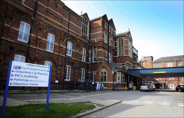 The Royal hampshire County Hospital in Winchester