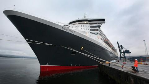 Sickness bug outbreak on QM2 rises to 215 cases