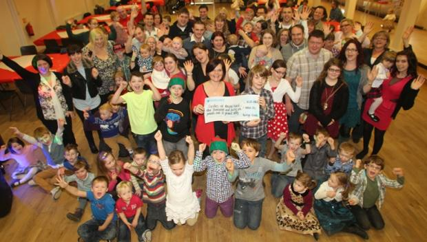 Youngsters celebrate heart donation