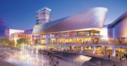 An artist's impression of plans for Watermark WestQuay.