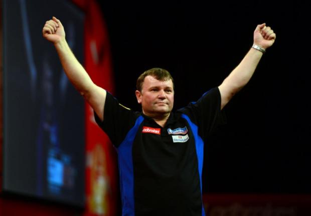 'The Bull' - Terry Jenkins.