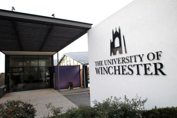 University of Winchester rated among country's best