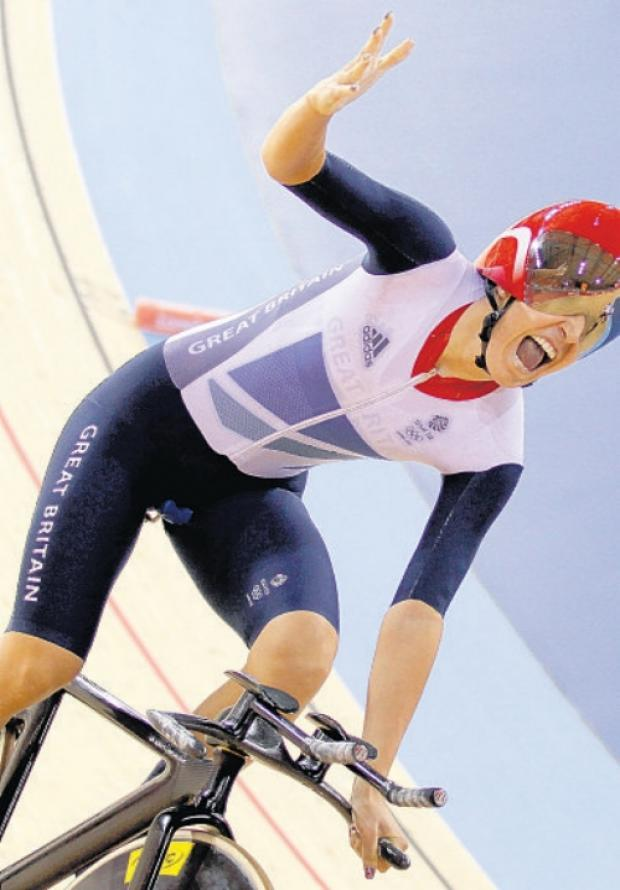 Daily Echo: Gold medal-winning Dani King.