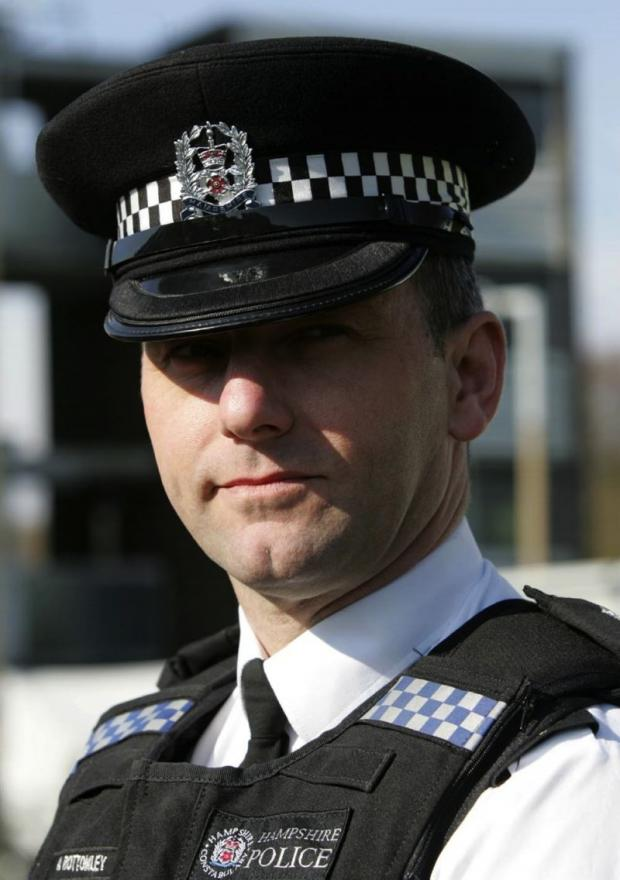 Chief inspector Andy Bottomley.