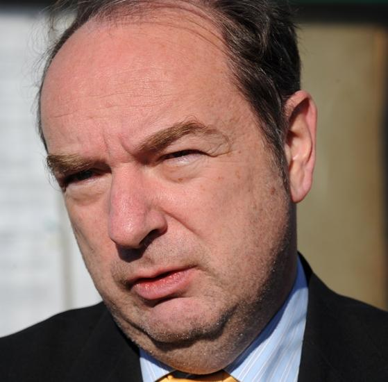 Transport secretary Norman Baker
