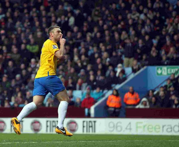 Rickie Lambert whose form has been key to Saints' upturn in form