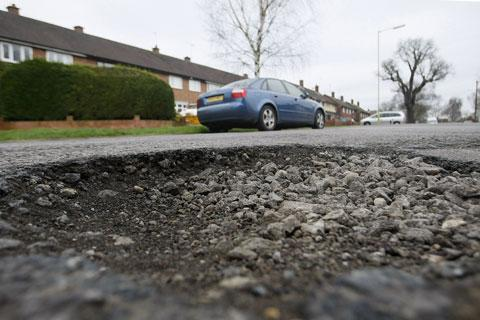 City's pothole compensation bill totals zero