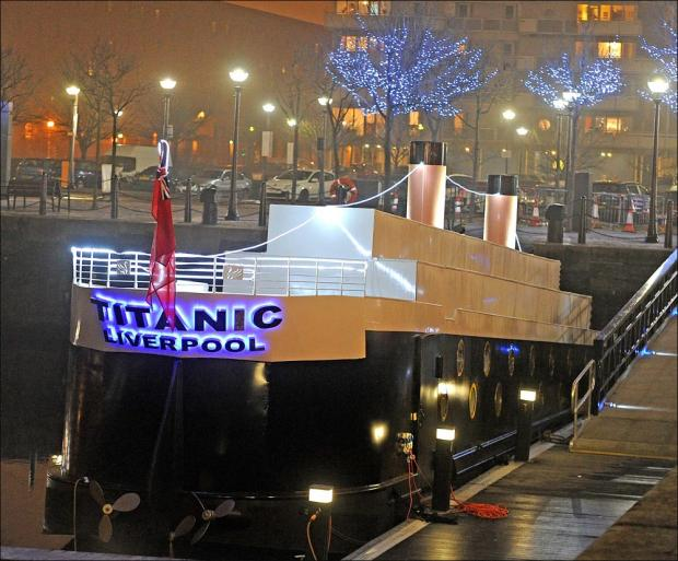 Titanic hotel blasted for being in 'poor taste'