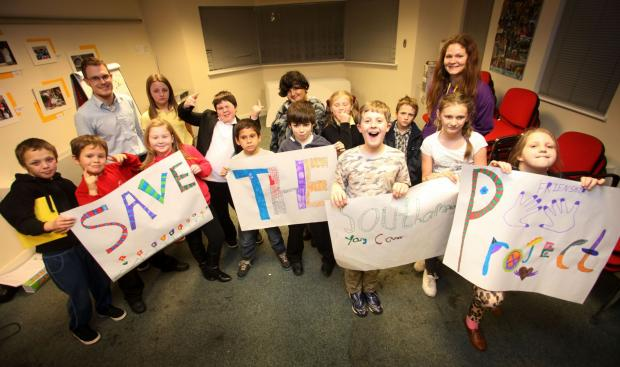 Members of Southampton's Young Carers Project