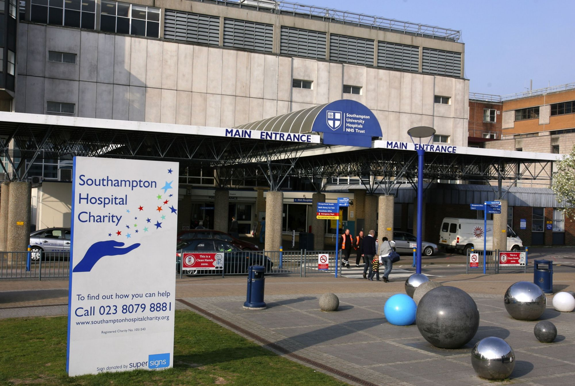 Southampton General was one of 17 hospitals to be criticised by the Care Quality Commission